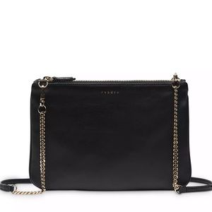 Sandro Addict Leather Pouch